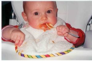 Kate eating